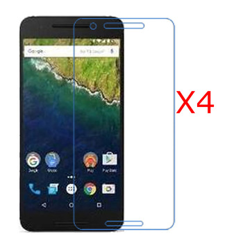 Új, 4 Db Ultra Clear Screen Protector Fedezze Őr Pajzs HD Film Huawei Google Nexus 6P 5.7