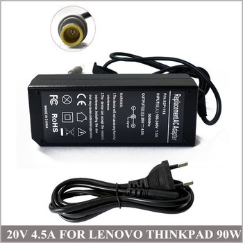 Cargador Notebook 20V 4.5 EGY 90W AC Adapter A Lenovo ThinkPad Edge E125 E330 E525 E530 E535 42T4428